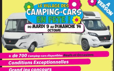 Le Village du camping-car en fête